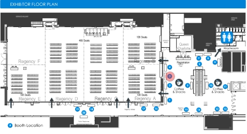 CWRA exhibitor floor plan