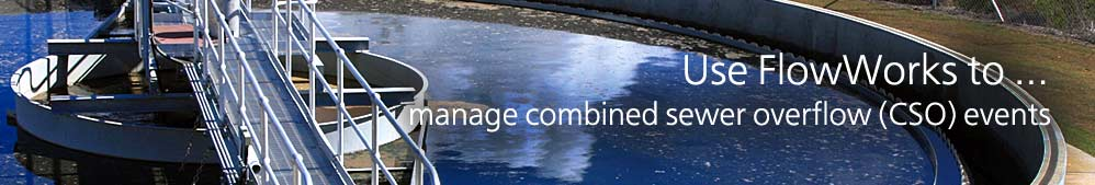 manage combined sewer overflow