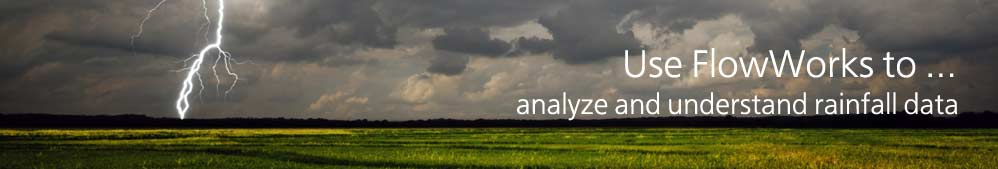 analyze and understand rainfall data